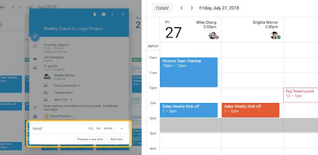 Google Calendario semplifica la riprogrammazione di riunioni