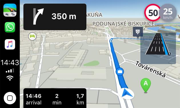 Sygic lavora al supporto di Apple CarPlay con modalita' offline