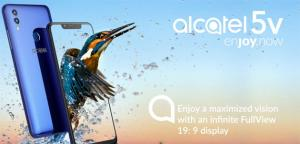 Alcatel 5V con display FullView, notch, doppia fotocamera, batteria da 4000 mAh in Italia da Agosto