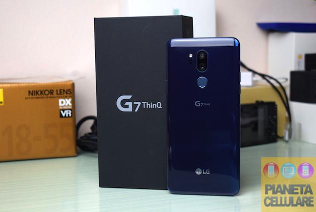 Recensione LG G7 ThinQ, il ritorno di LG