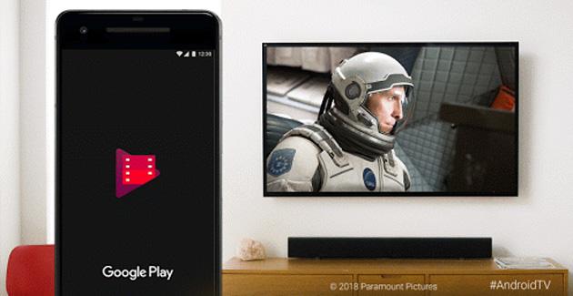 Google Play Film, HDR su Sony Android TV e Nvidia Shield tramite Cast