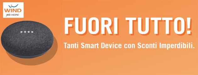 Wind Fuori Tutto, smart device a prezzo scontato se acquistati con una nuova SIM Wind