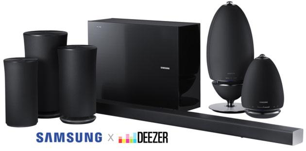 Deezer HiFi anche su soundbar e altoparlanti Samsung