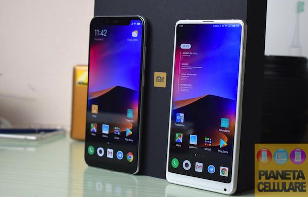 Xiaomi Mi 8 vs Mi Mix 2s, il nostro confronto