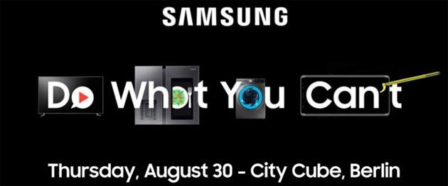 Samsung a IFA 2018, conferenza stampa il 30 agosto: cosa aspettarsi