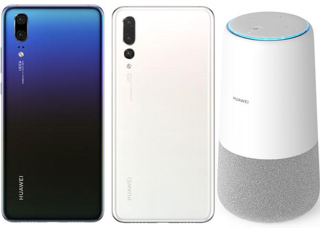 Huawei lancia altoparlante AI Cube, beacon Locator e nuovi colori Morpho Aurora e Pearl White per P20