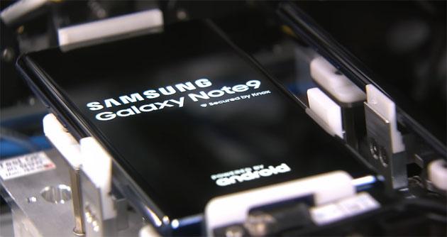 Samsung Galaxy Note9, in fabbrica per vedere come viene costruito il phablet