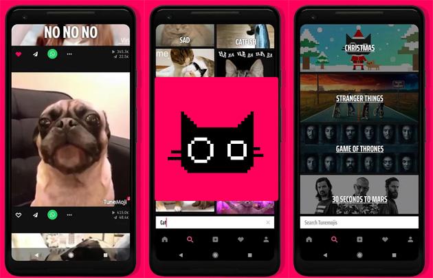 Snapchat consente di inviare GIF con audio da TuneMoji