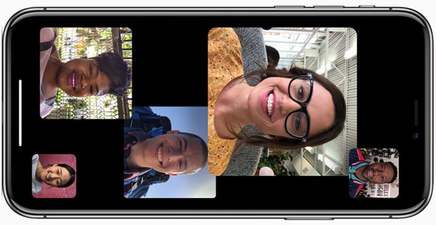 Foto Apple ritarda Group Facetime a dopo il debutto di iOS 12