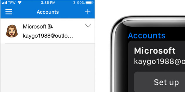 Microsoft Authenticator arriva su Apple Watch