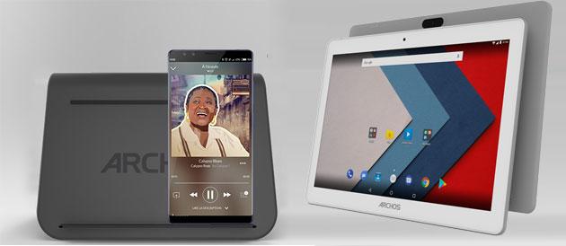 Archos lancia tablet Oxygen 101 4G e stazione di ricarica wireless universale a IFA 2018