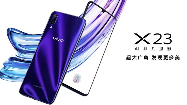 Vivo X23 ufficiale con notch, dual camera, RAM 8GB e storage 128GB