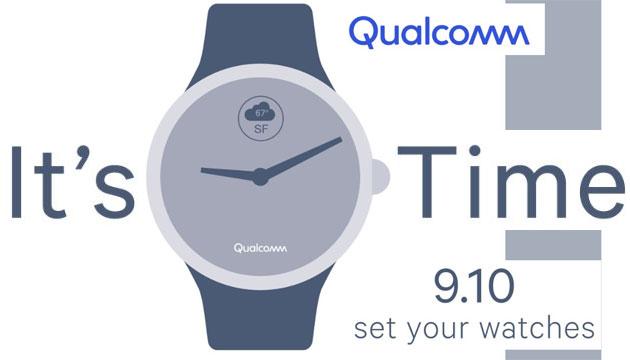 Qualcomm, nuovo chip per smartwatch atteso il 10 settembre