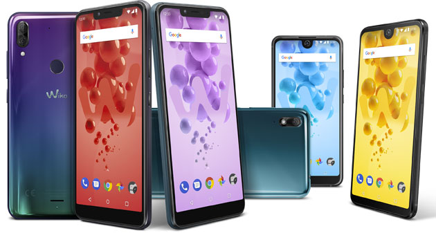 Wiko lancia View2 Go, View2 Plus e Harry2 a IFA 2018