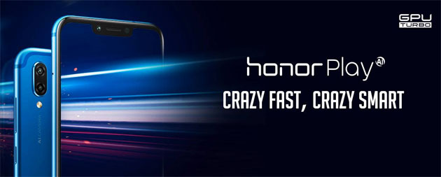 Honor Play con notch, Kirin 970 e GPU Turbo in Italia da 329 euro