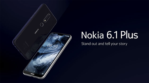 Nokia 6.1 Plus (X6) ufficiale con notch e Dual Camera