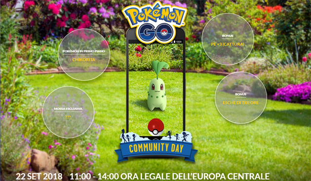 Pokemon GO, decimo Community Day il 21 ottobre 2018 con special guest BELDUM