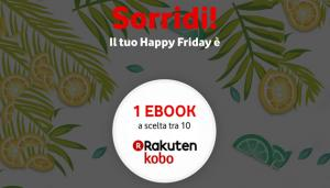 Vodafone Happy Friday il 17 agosto regala 1 eBook a scelta tra 10 titoli