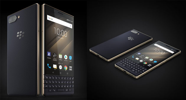 Foto BlackBerry Key2 LE ufficiale a IFA 2018, in Europa da 399 euro