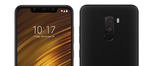 Xiaomi PocoPhone F1 con notch e Snapdragon 845 in Italia da 329 euro