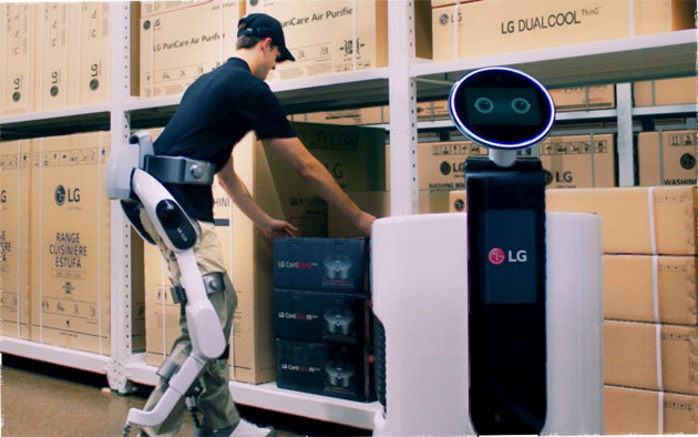 LG CLOi SuitBot, il robot che si indossa
