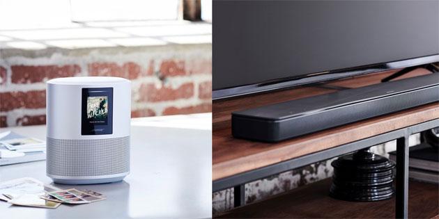 Bose Home Speaker 500, Soundbar 500 e 700 con controllo vocale Alexa, AirPlay 2 e Google Assistant in arrivo