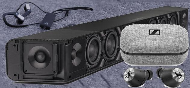 Sennheiser con auricolari Momentum True Wireless e AMBEO Soundbar a IFA 2018