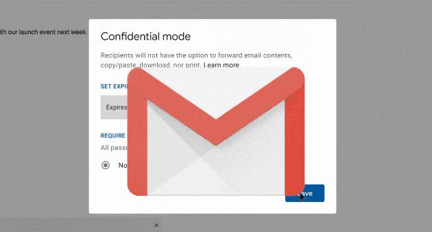 Google Gmail, come usare la Modalita' Riservata su Android, iOS e Desktop