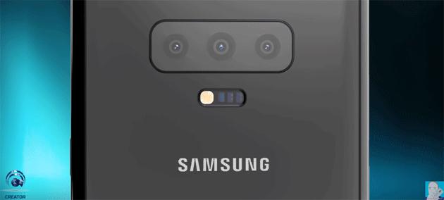 Galaxy S10 tra Display Infinity-O con notch, tripla fotocamera, lettore impronte su schermo e variante 5G