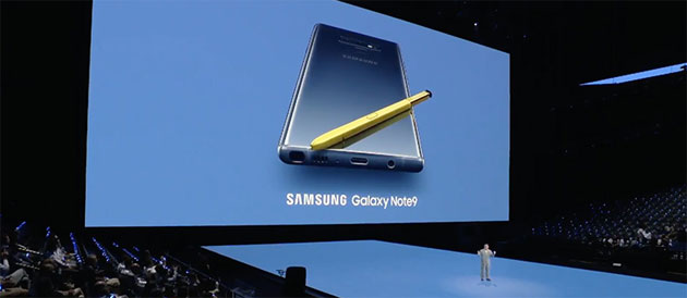 Foto Samsung Galaxy Note9 supera S9 in preordini