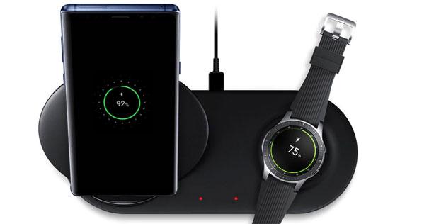 Samsung Wireless Charger Duo, caricabatterie per due dispositivi alla volta
