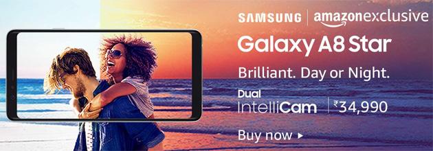 Samsung Galaxy A8 Star ufficiale con Dual IntelliCam, ampia batteria, 6GB di RAM e batteria da 3700mah