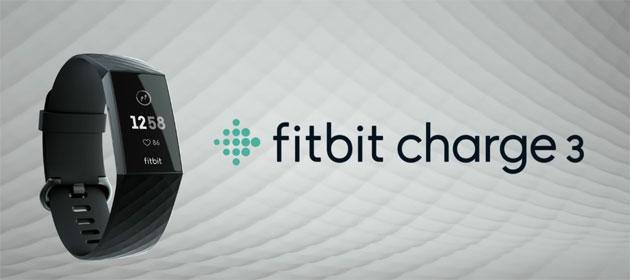 Fitbit Charge 3 ufficiale con display touch, batteria a 7 giorni, acqua resistente, battito cardiaco, fase del sonno e tanto altro