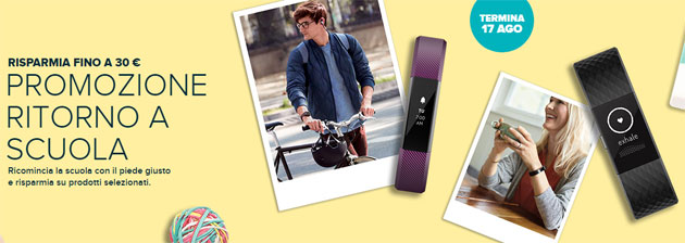 Foto Fitbit per il Back To School 2018