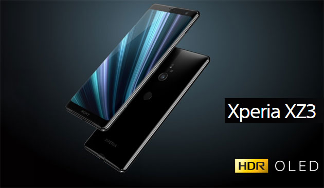 Foto Sony Xperia XZ3 con display OLED, Android 9 Pie e Snapdragon 845 in Italia
