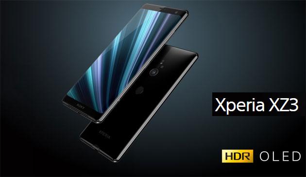 Sony Xperia XZ3 ufficiale con display OLED, Android 9 Pie e Snapdragon 845. In Italia da ottobre