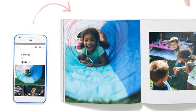 Google FotoLibri per creare a farsi stampare album fotografici professionali da Google
