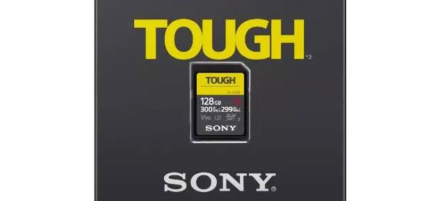 Sony presenta la scheda SD piu' veloce al mondo