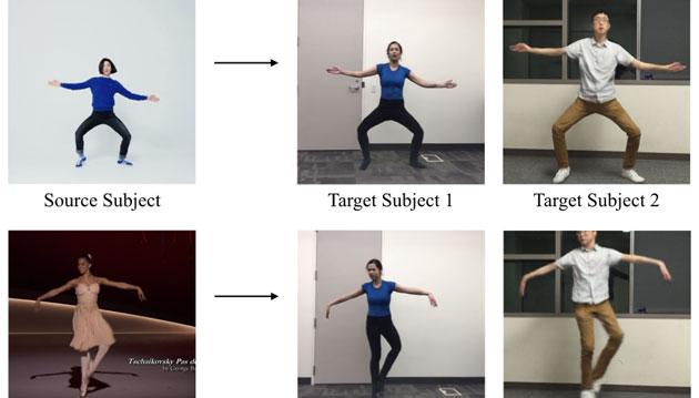Everybody Dance Now, tutti ballerini grazie alla Intelligenza Artificiale