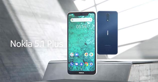 Foto Nokia 5.1 Plus in nuove varianti, con memorie fino a 6GB RAM e 64GB ROM