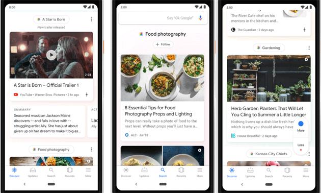 Google Feed diventa Discover