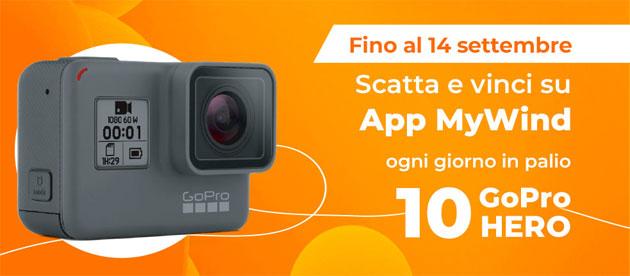 App MyWind, scatta e vinci 10 GoPro HERO