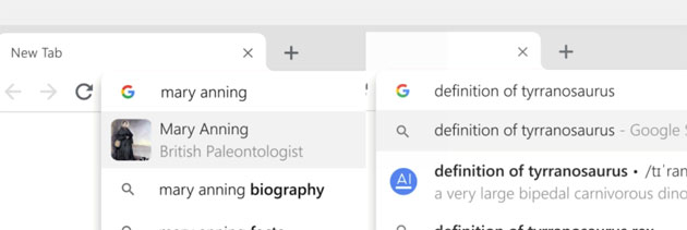 Google porta i risultati delle ricerche nella Omnibox