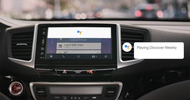 Google Assistant su Android Auto
