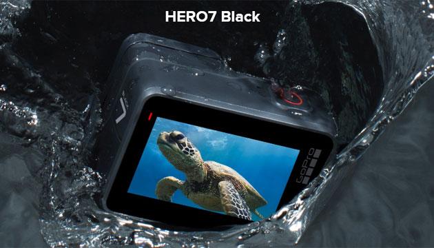 GoPro HERO7 ufficiale nelle versioni Black, Silver e White da 219 euro
