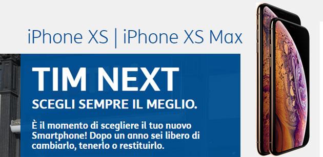 TIM Next per cambiare smartphone ogni anno tra iPhone XR, XS, Galaxy S9, Huawei P20