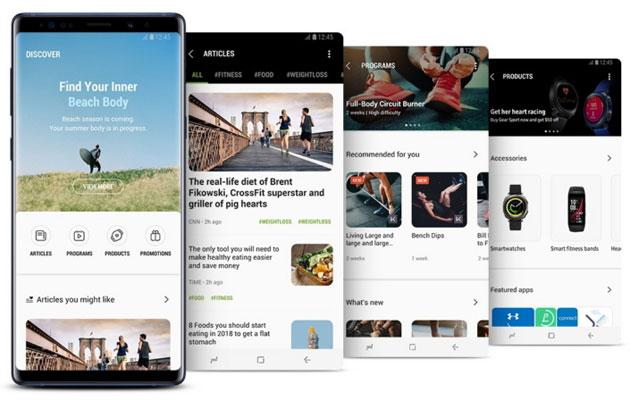 Samsung Health si aggiorna per una esperienza di salute e benessere piu' interattiva e personalizzata