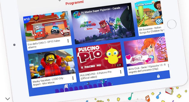 YouTube Kids in Italia