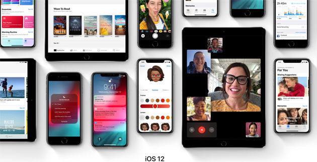 Apple iOS 12.1.2 disponibile, tutte le Novita' e problemi risolti