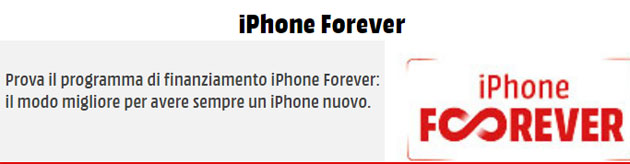 Foto Mediaworld iPhone Forever per avere un iPhone sempre nuovo